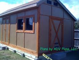 Free Shed Plans 14x24 Pole Barn Plans